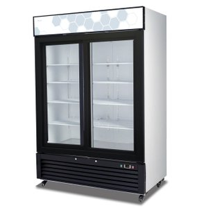 Sliding Glass Door Refrigerator C-49RS