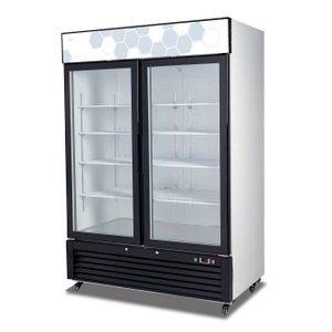 Hinged Glass Door Freezer C-49FM