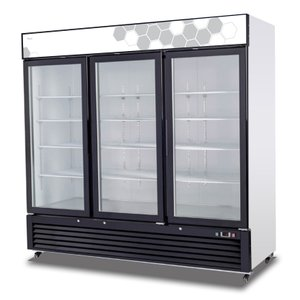 Hinged Glass Door Freezer C-72FM