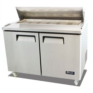 Standard Top Sandwich Prep Table C-SP48-12