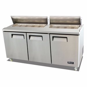Standard Top Sandwich Prep Table C-SP72-18