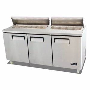 Big Top Sandwich Prep Table C-SP72-30BT
