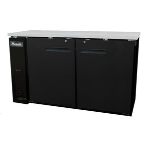 Solid Door Back Bar Refrigerator C-BB60