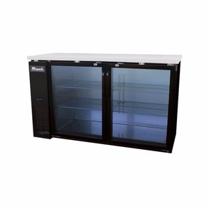 Glass Door Back Bar Refrigerator C-BB60G