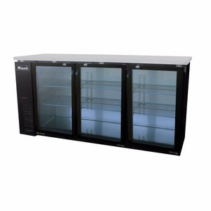 Glass Door Back Bar Refrigerator C-BB72G