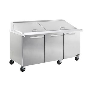 Megatop Salad - Sandwich Prep Table KSTM-72-3